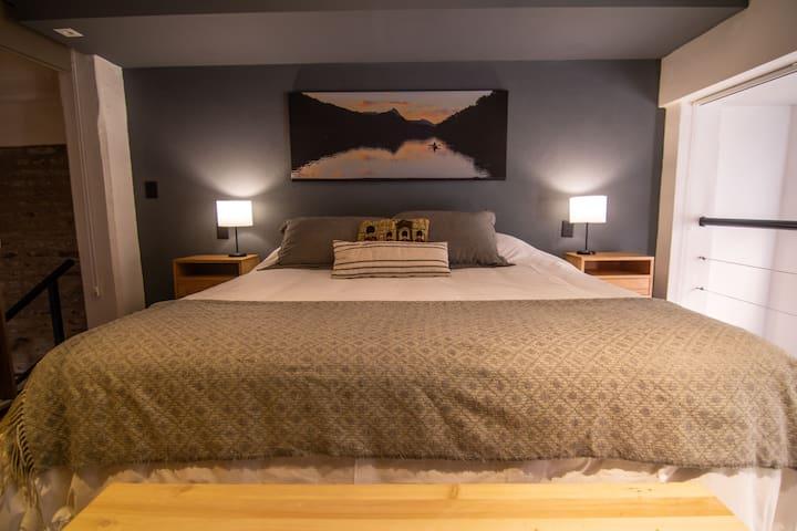 Nice Design Bedroom in the upper room