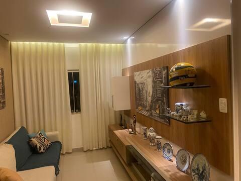 Apartamento Confortável e bem decorado.