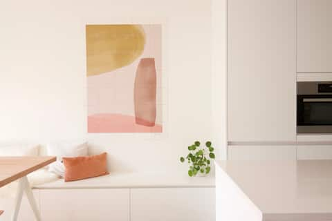 Familie appartement Oostende met eigentijdse look
