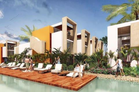 Casa en la playa: Villas Antálea