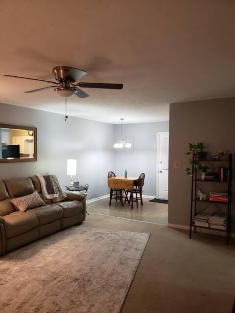 2 bedroom duplex in West Paducah.