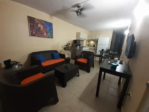Family friendly apartment near SW beaches.
