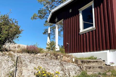 Sjønær og trivelig hytte med flott utsikt