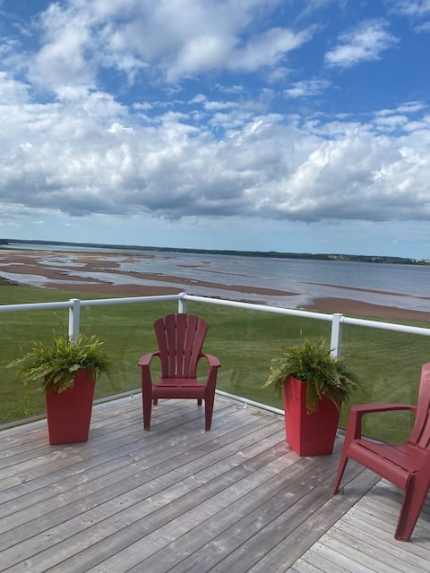Waterfront home on the Cardigan River PEI