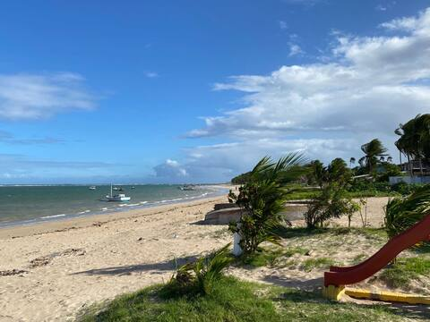 Apartamento aconchegante a 5 minutos da praia