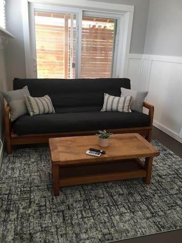 Sofa and Full size futon