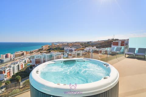 weforyou PENTHOUSE B Med One with JACUZZI Higuerón