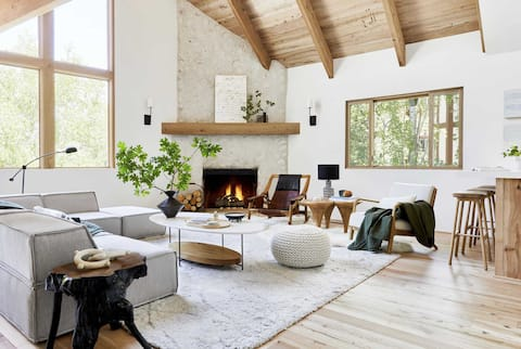 The Mountain House, by designer Emily Henderson