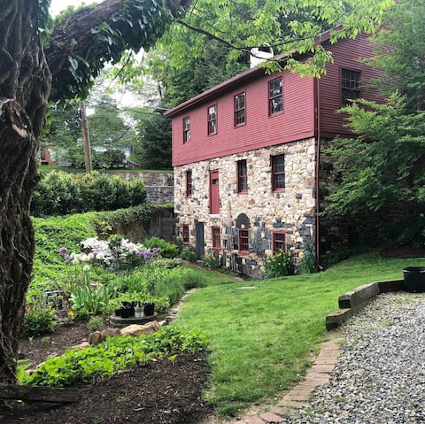 The Farmhouse: Sanctuary in a 300 Yr Old Mill