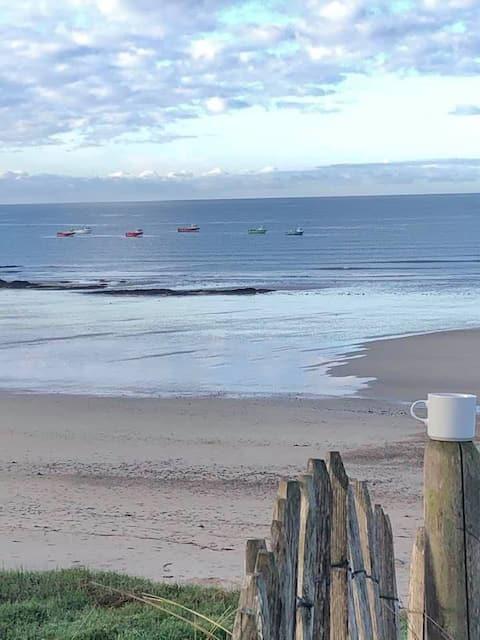 Appart F2 accès sur Dunes à 30 Mètres de la Plage