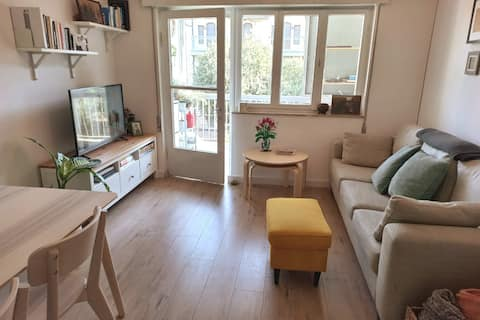 Lovely 2-bedroom rental unit with patio in Talbiya