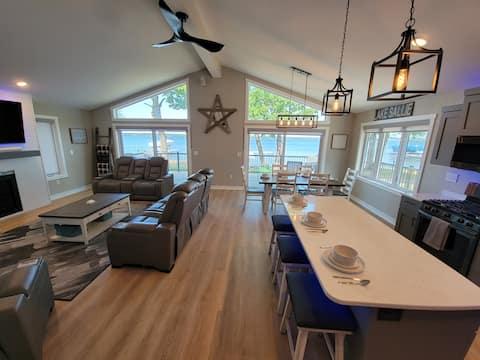 Unwind Detroit Lakes-Lake Sallie-  Brand New Home!