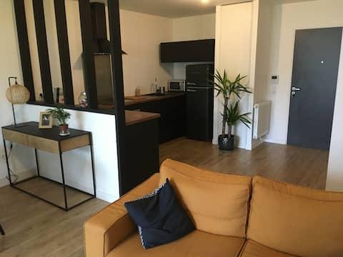 Bel appartement au calme au centre de Treillières