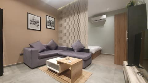 "Modern Studio at Brassbell Zamalek""301"""