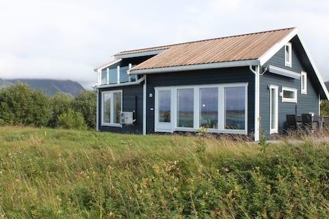 Hytte med unik utsikt