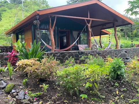 Cacique Casa surrounded by nature and gardens