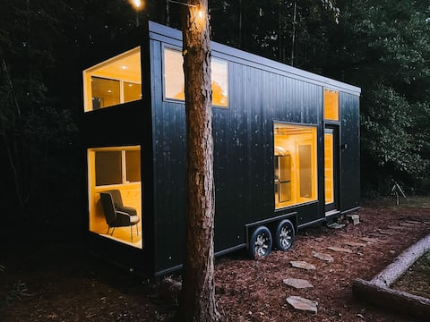 Haven Tiny Home, Go Off-Grid in 100-Acre Woods
