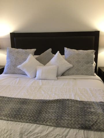 New bedding and linens for King size bed