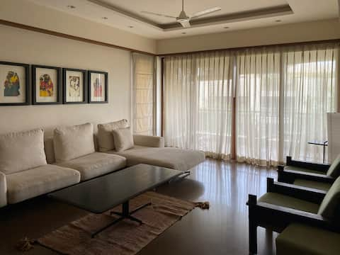 Room in an Architects Apartment, Ahmedabad.