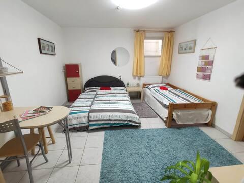 günstiges Kellerzimmer im schönen Allgäu