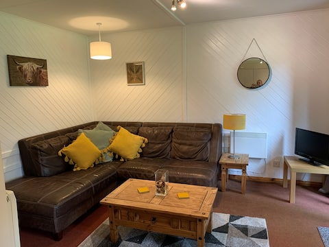 Cosy chalet in the heart of Abernethy forest
