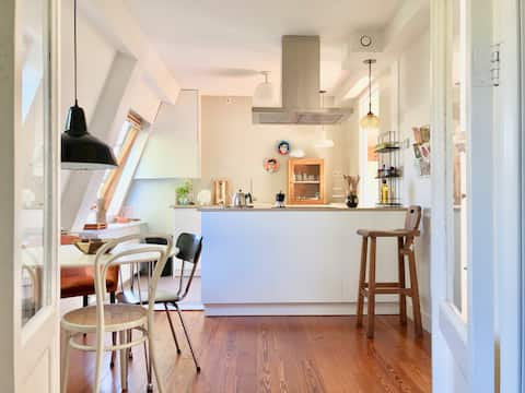 Light, spacious Townhouse in Haarlem.