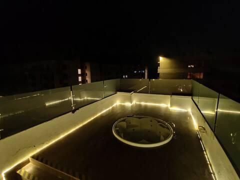 Duplex Villa - 4BHK Terrace Garden with Jacuzzi
