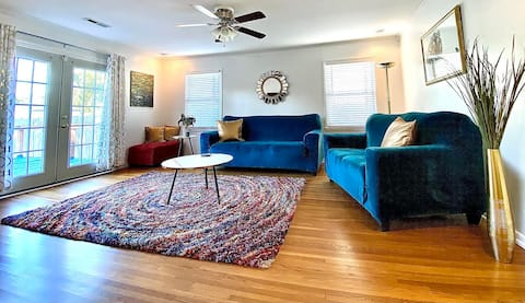 Cozy, Colorful Home (CDC Cleaning Protocol)