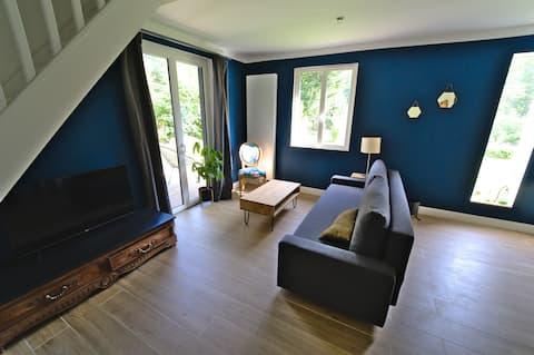 Bed and breakfast van de Pévèle met keuken en woonkamer