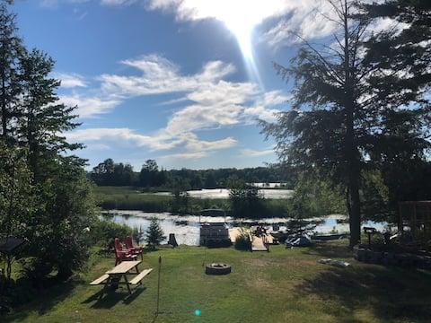 Beaver Tree Lodge on Little Bald Lake.