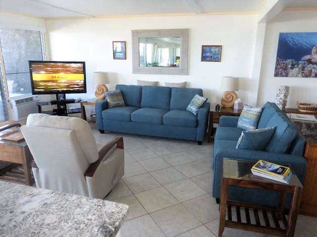 Comfortable and relaxing living room area