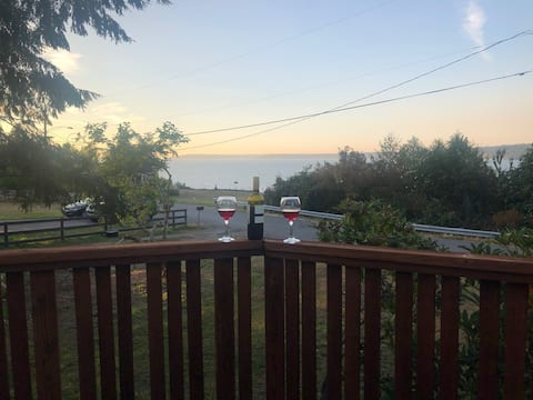 Seaside getaway with water view