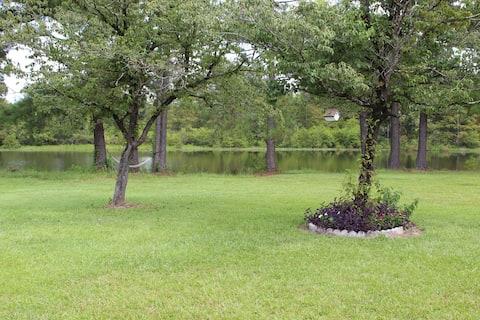 Chalet paisible sur le lac Fountain