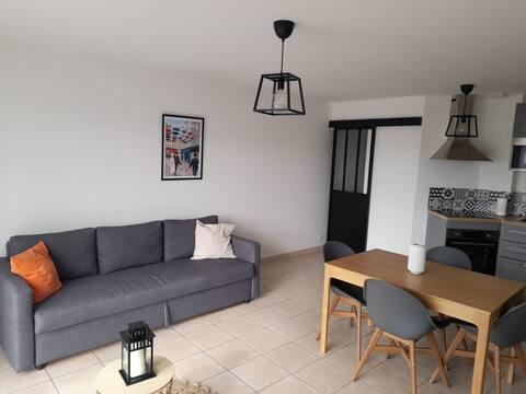 Bel appartement  100m de la mer Agon Coutainville