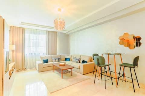 24 - Luxueux et central, logement idéal.