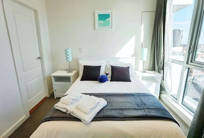The second bedroom with a Double size bed