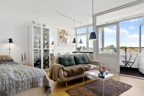 Skøn 1-værelses lejlighed i Aarhus C ( Langenæs)