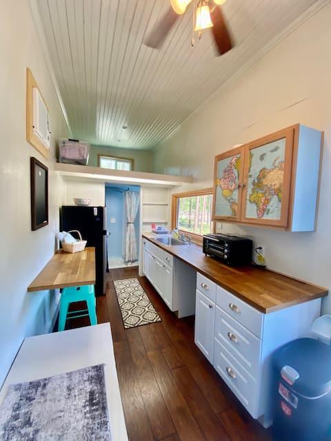 Tiny House Farm Stay on a Bio Regenerative Farm