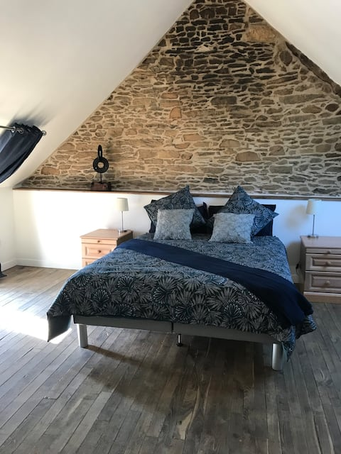 Fabulous 1 bed. gîte with original and modern mix