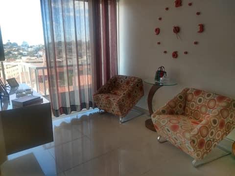 Apartamento espaçoso com uma vista maravilhosa!