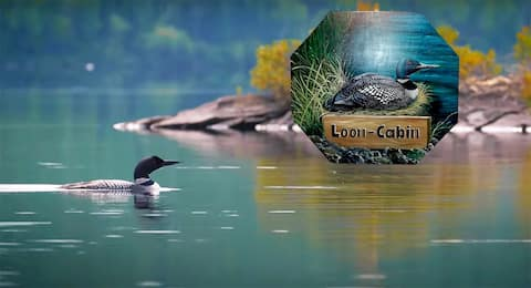 """Hayden Lake, """"Loon-Cabin"""" cozy place in the nature"""