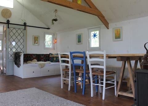 Heerlijk buitenhuis met houtkachel