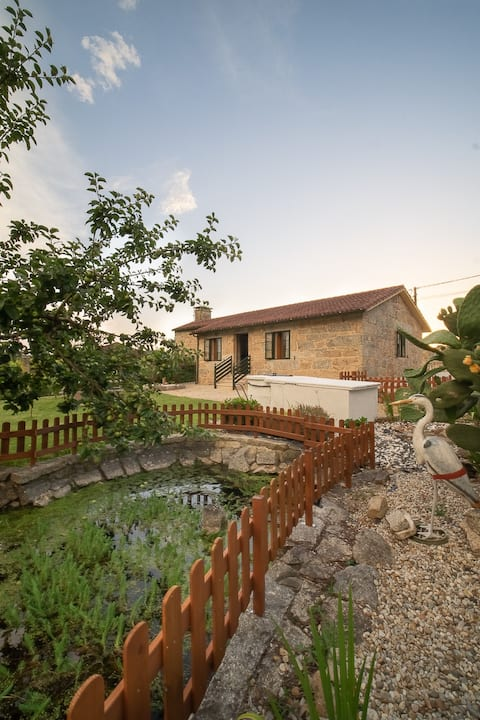 A Casa da Charca - Casa rural con jardín