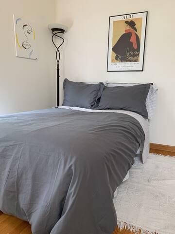 bedroom upstairs