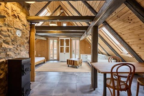 Goldenes-Häusle Weisse Wohnung