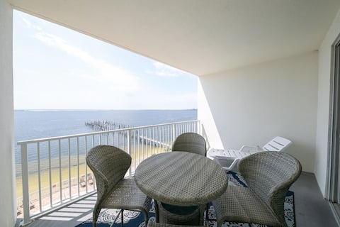 Amazing Views from this waterfront condo.