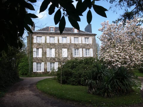 Superb mansion near town centre with large grounds