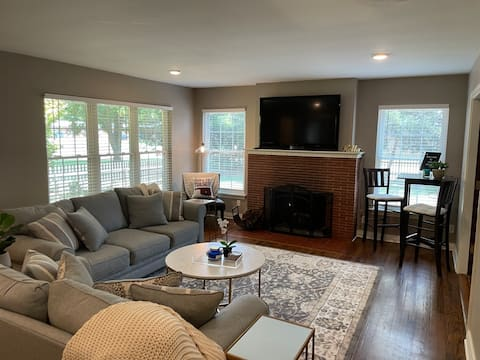"""New to Airbnb """"The Hoov"""" Just in time for Football"""