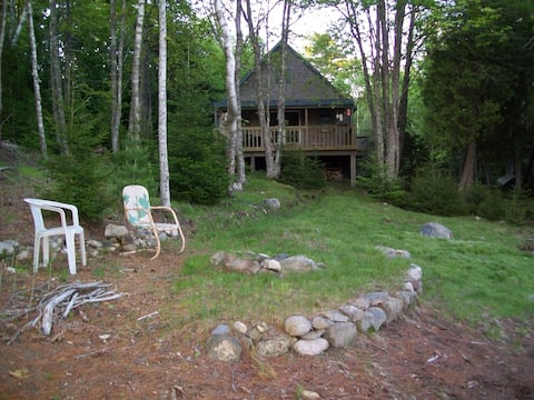 Private seasonal cottage on bay in Lubec, Maine