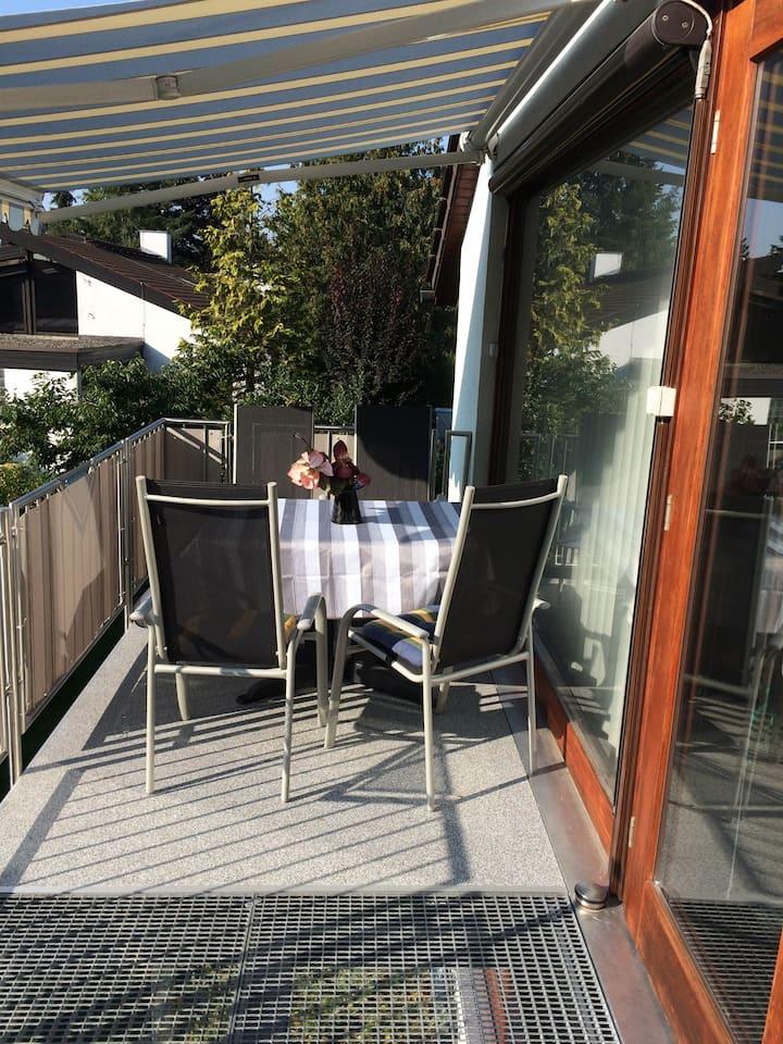 Super  XXL Ferienwohnung  73 qm, mit Balkon